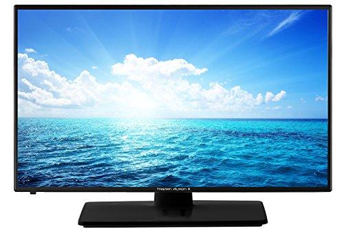 Tristan Auron 60 cm (24 Zoll) LED Full-HD Fernseher TV (Triple Tuner, DVB-T2, DVB-C, LED-Backlight, 1080p) LED24FullHD (Tv 24 Zoll 1080p)