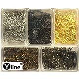 Yline 350 Sicherheitsnadeln - Sortiment farbig 22 mm, Sicherheits- Nadel Nadeln, 3088