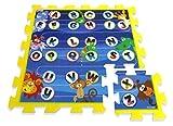 Stamp Puzzlematten Buchstaben 9tlg. PE-Schau