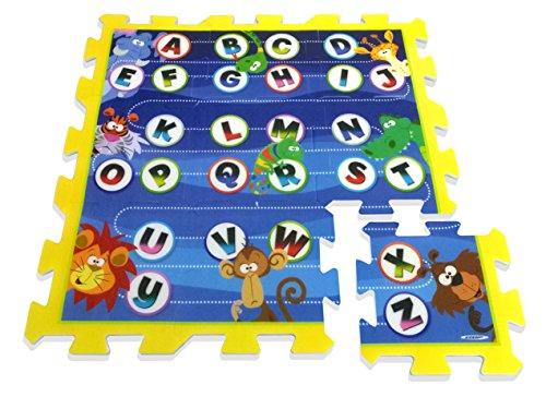 Stamp Puzzlematten Buchstaben 9tlg. PE-Schau (Jungle-teppich Alphabet)