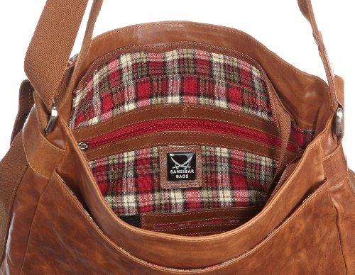 Sansibar Bora B-022 BA 06, Sac mixte adulte brun (cognac) - V.1