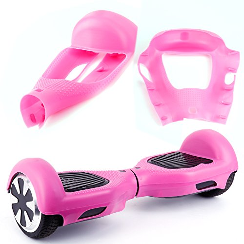 Protective Silicone Case for 6.5 inch WheelElectric Auto Balance Scooter, pink