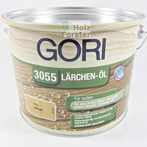 Gori Lärchen Öl 3055 Lärche 7122, 2,50 Liter