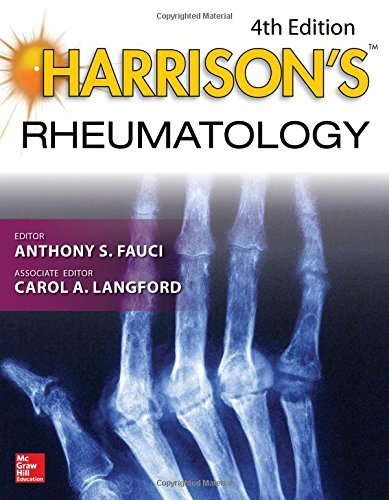 Harrison's Rheumatology, Fourth Edition (Harrison's Specialty) by Anthony S. Fauci (2016-11-18)