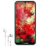 4G Téléphones Portables Débloqués Android 8.1 4Go RAM 64Go/Jusqu'à 192Go 6,62'' HD Écran Goutte d'eau(19:9 Ratio) 4G Smartphone Pas Cher V mobile M9 4800mAh Caméra 12MP Face ID Bluetooth WiFi (Vert)