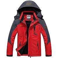 Panegy - Chaqueta para Hombre Abrigo impermeable para Deportes Esquí Invierno Chaqueta de Nieve a prueba