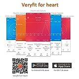 Antimi Fitness Armband, fitness tracker smart bracelet Smartwatch für Android Smartphone und iPhone, Schrittzähler, Push-Message und Anrufer – ID Benachrichtigung (Pink) - 6