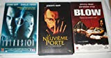 Johnny Depp Collection / Intrusion - La Neuvième Porte - Blow [VHS] Cassette Vidéo