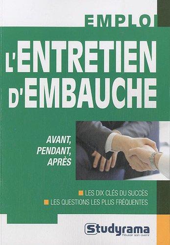 L'entretien d'embauche par Frédéric de Monicault