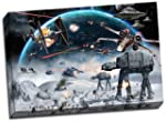 Star Wars Canvas Art Print Framed Pic...