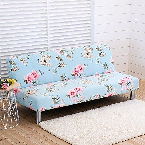 Copridivano senza braccioli in poliestere elasticizzato divano letto slipcover protector fit divano letto pieghevole senza braccioli a style