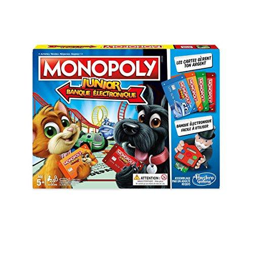 Monopoly Junior Electronic Banking Wirtschaftssimulation für Kinder (wirtschaftlich, für Kinder, Mädchen, 5 Jahre, 99 Jahre), AAA