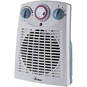NUOVO J-Living 2kw 2000 WATT convettore riscaldatore con TURBO A VENTOLA /& Timer 24hr-Nero