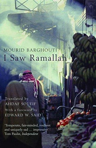 I Saw Ramallah par Mourid Barghouti