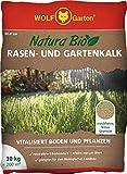 WOLF-Garten Saatgut, Natura Bio-Rasen und Gartenkalk RG-K 200 für 200 m², weiß, 40 x 30 x 6 cm,...