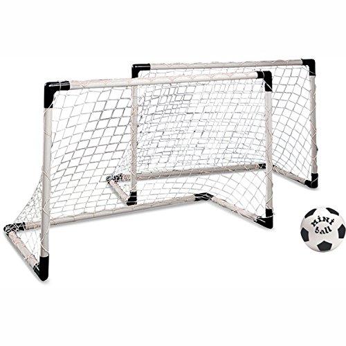 Fußball-Tore MONDO Mini 2er-Set mit Ball -