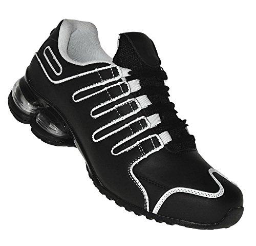 Bootsland 415 Neon Turnschuhe Federsohle Sneaker Sportschuhe Herren, Schuhgröße:43