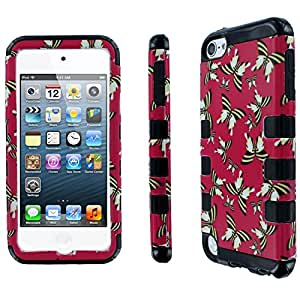 Fishbone Full Coverage Protective Case for Apple iPod Touch 5th Gen û Butterfly Design