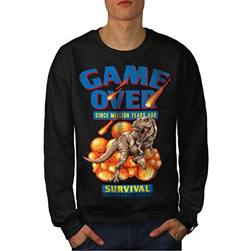Spiel Über Dinosaurier Männer 5XL Sweatshirt | Wellcoda