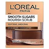 L'Oréal Paris Gesichts- und Lippen-Peeling, mit feinen Zuckern und Kakao, 50 ml
