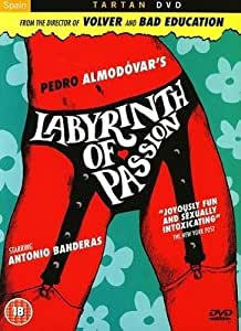 Le Labyrinthe des passions / Labyrinth of Passion ( Laberinto de pasiones ) [ Origine UK, Sans Langue Francaise ]