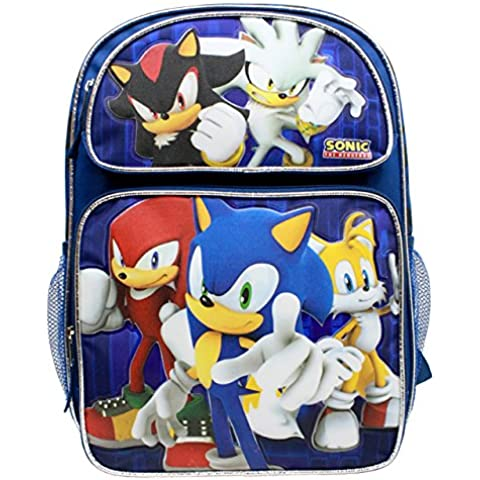 Sonic the Hedgehog Large 16 Inches Backpack #SH28752 by Sonic