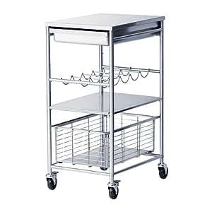 Ikea GRUNDTAL - carrello da cucina in acciaio inox - 54 x ...