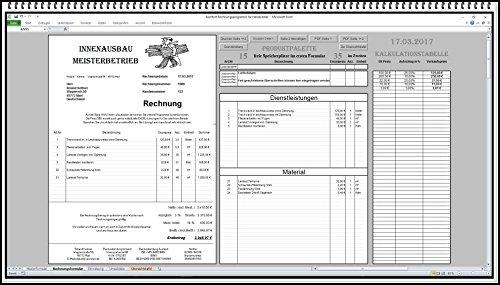 Rechnungssoftware für alle Branchen wie Handwerker Dienstleister Existenzgründer Kleinunternehmer u.s.w.
