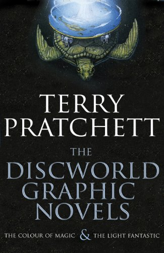 """The Discworld Graphic Novels: The Colour of Magic and The Light Fantastic: 25th Anniversary Edition: """"The Colour of Magic"""", """"The Light Fantastic"""""""
