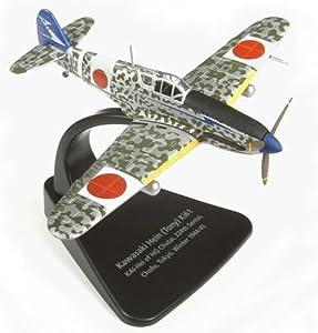 Oxford Diecast AC015 Kawasaki Hein Tony KI61 Tokyo Invierno 1944/45 Modelo de fundición de Aviones