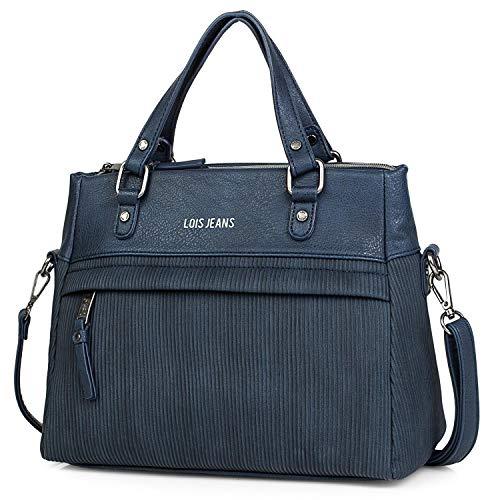 Lois - Bolso Mujer Tipo Shopping. 2 Asas Bandolera