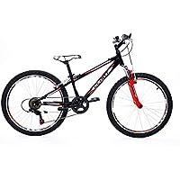 CLOOT - Bicicletas de niño 24 - MTB - Bici para niños de 24 Pulgadas -