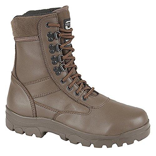 Grafters Top Gun - Chaussures de Combat - Homme Marron