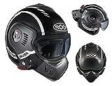 Roof Dach Helm Boxer V8, LP20schwarz-weiss, Größe 2X L
