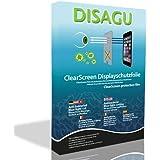 4 x Película de protección de pantalla DISAGU ClearScreen para TomTom Rider 400 antibacterial, blue-light-cut película de protección