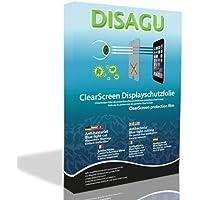 4 x DISAGU ClearScreen Displayschutzfolie für Sony HVL-F56AM anti-bakteriell, BlueLightCut Filter Schutzfolie