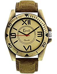 Cavalli Analogue Beige Dial Men'S And Boy'S Watch-CW112