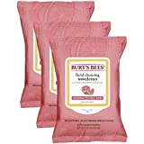 Burt 's Bees sensible towelettes de limpieza facial con extracto de algodón