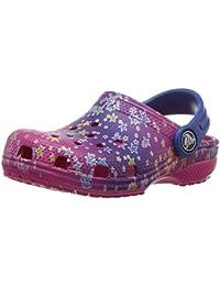 Crocs Classicgrphclgk, Zuecos para Niñas