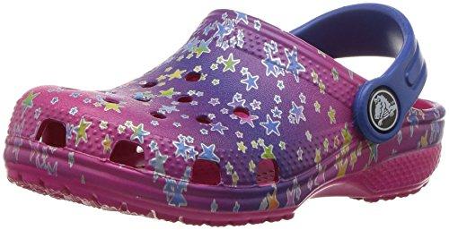 Crocs Classicgrphclgk, Sabots Mixte Enfant Multicolore (Multi Stars)