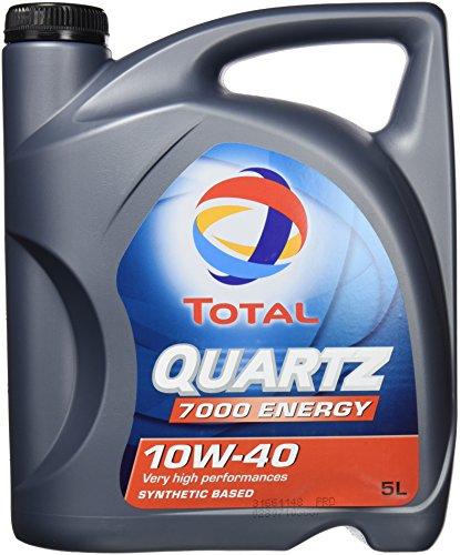 Total Quartz 7000 SAE 10W-40 Motoröl im 5 Liter Kanister