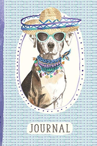 Journal: For People Who Love Catahoula Leopard Dogs [6x9 Lined] - Leopard Womens Hat