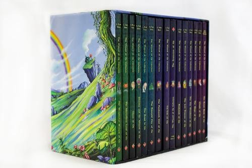 The Wizard of Oz Collection: 15 Book Set (The Wizard of Oz, The Emerald City of Oz, The Scarecrow of Oz, Dorothy and the Wizard in Oz, The Tin Woodman Oz, The Lost Princess of Oz, Tik-Tok of Oz) por L. Frank Baum