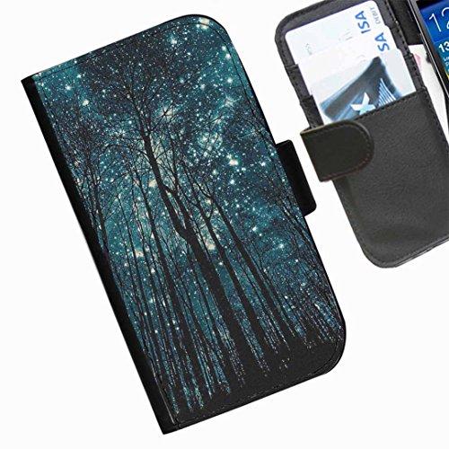 Hairyworm- Himmel Seiten Leder-Schützhülle für das Handy Nokia Lumia 530