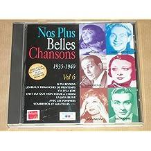 NOS PLUS BELLES CHANSONS Vol 6 1935-1940