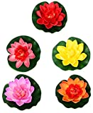 #7: Indian onliners Plastic Artificial Flower (29 x 26 x 19 cm, IOFL00018Z, Pack of 5) Diwali Decoration Items for Home | Diwali Gifts for Office | Diwali Home Decor | Diwali Gifts For Friends