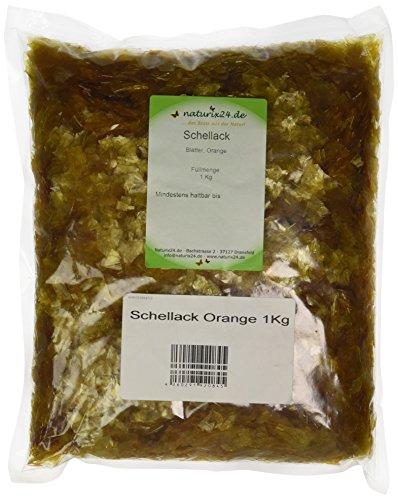 Naturix24 Schellack Orange – Aromaschutzbeutel, 1er