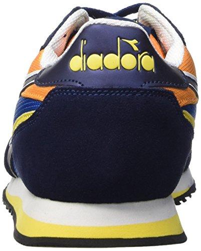 Diadora Malone, Scarpe da Corsa Unisex-Adulto Blu (C6081 Blu Micro/Blu Estate)
