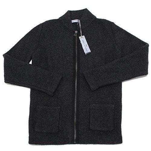 0072N maglione uomo DANIELE ALESSANDRINI lana grigio sweater men [50]