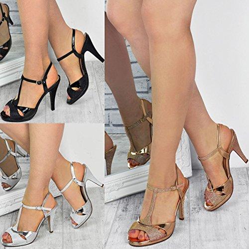 Sandales à Talons Hauts/Moyens - Scintillant - Mariage/Fête - Femme